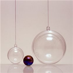 Прозрачный пластиковый шар 50мм