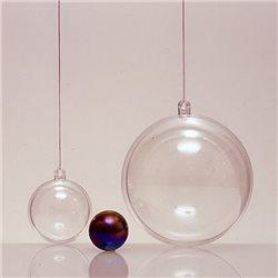 Прозрачный пластиковый шар 120мм