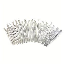 Набор пластиковых стеков разной формы, 35 шт.