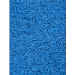 Бумага для техники DECOPATCH 30х40 / Голубой кракелюр