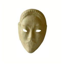 Маска африканская/ папье-маше/ 19,5x29,5x5 см