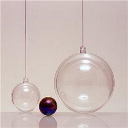 Прозрачный пластиковый шар 70мм
