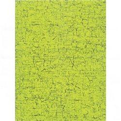 Бумага для техники DECOPATCH 30х40 / Зеленый кракелюр