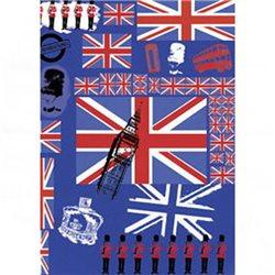 Бумага для техники DECOPATCH 30х40/ Британский флаг