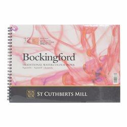 Блок акварельной бумаги Bockingford HP 300 г/м, 21х29.7 см (А4), 12 листов, мелкое зерно