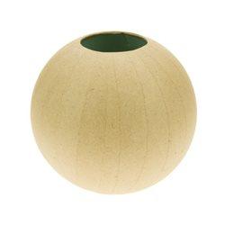 Ваза - шар / папье-маше/17х17х16 см