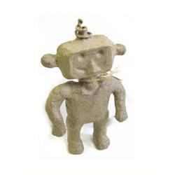 Мальчик- робот/ папье-маше/ 8х2х14 см