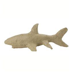 Aкула/ папье-маше/ 17х8х7 см