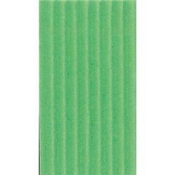 Картон цв. гофриров. крупный 175г/м 200 х 70 см/ зеленый луг