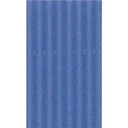 Картон цв. гофриров. средний. 300г/м, 50х70 см /Синий
