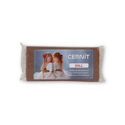 """Полимерный моделин """"Cernit Doll """" 500гр. нуга/056"""