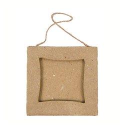 Маленькие рамки с квадратным центром/папье-маше/8х8см