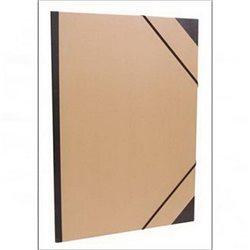 Папка для хранения работ 52х72/ картон, с резинк.