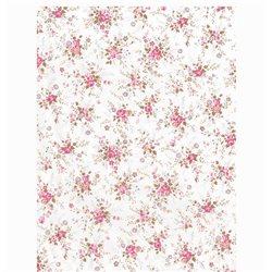 Бумага для техники DECOPATCH 30х40 / Розовые цветы