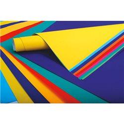 Бумага цветная. 75 г/м 60х80 см. /Лимонно-желтая