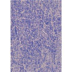 Бумага для техники DECOPATCH 30х40 / Кракелюр фиолет./золото