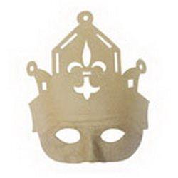 Маска/ папье-маше/ Король 22 х 8 х 24,5 см