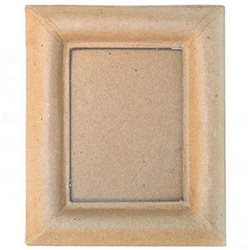 Прямоугольная рамка/папье-маше/23х28см