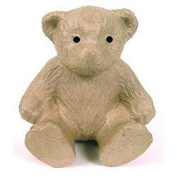 Медведь / папье-маше/ 20х18х20см