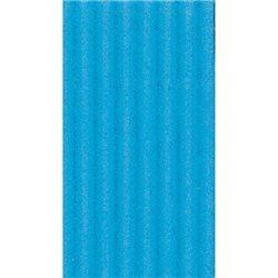 Картон цв. гофриров. средний. 300г/м, 50х70 см /Синий средний