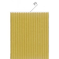Картон цв. гофриров. мелкий. 230г/м, 50х70 см /Золото.
