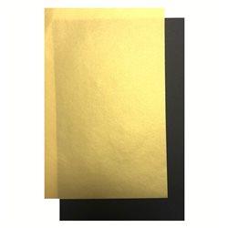 Калька цветная CANSON 5 л, A4, 100гр/м Золотая