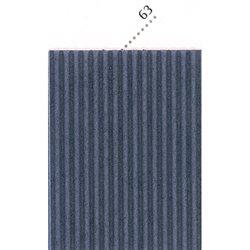 Картон цв. гофриров. крупный 175г/м 200 х 70 см/ морская волна