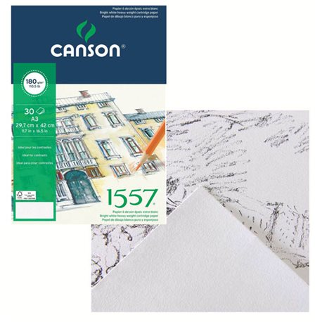 Блок для рисования Canson, А3, 30л, 180г.