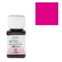 """Краски по стеклу """"Esprimo-Vetro Color"""" №484 -Маджента/50мл"""