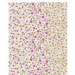 Бумага для техники DECOPATCH 30х40 / Мелкие розовые, зеленые цветы