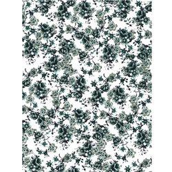 Бумага для техники DECOPATCH 30х40 / Цветы черно-белые
