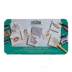 """Н-р """"Colour Collection"""" /цв.карандаши,пастель /36 шт в мет.кор."""