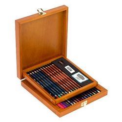 """Н-р """"Colour Collection"""" /цв.карандаши,пастель 32 шт / в дерев.кор."""