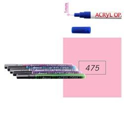 Розовый. Акриловый маркер DARWI Acryl Opak 1мм