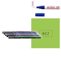 Светло-зеленый. Акриловый маркер DARWI Acryl Opak 1мм