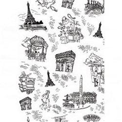 Бумага для техники DECOPATCH 30х40 / Париж