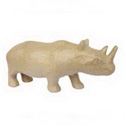 Носорог/ папье-маше/25х7,2х11 см