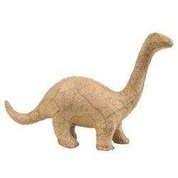 Динозавр/ папье-маше/ 17х10х5см