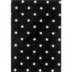 Бумага для техники DECOPATCH 30х40 / Горошек черный