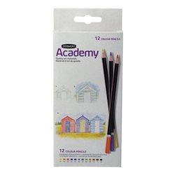 """Набор цветных карандашей """"Academy"""" /12цв. в картоне"""