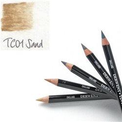Карандаш угольный тонированный TC01 /Песочный