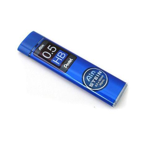 Грифели для карандашей автоматич. Ain Stein 0.5мм. 40шт. HB