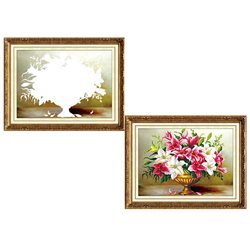 Лилии - мозаичная картина