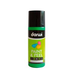 Краска трансфертная Paint & Peel/ Зеленый средний 80 мл