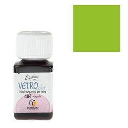 """Краски по стеклу """"Esprimo-Vetro Color"""" №480 -Желто-зеленый/50мл"""