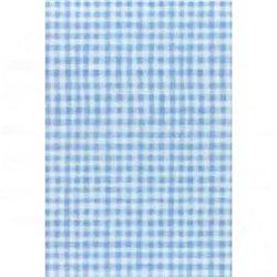Бумага для техники DECOPATCH 30х40 / Голубая клетка