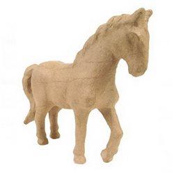 Лошадка/ папье-маше/19х16,5х6 см