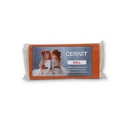 """Полимерный моделин """"Cernit Doll """" 500гр. карамель/054"""