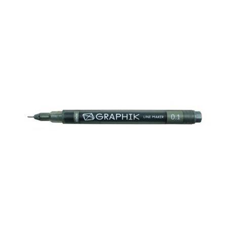 Мультилайнер GRAPHIK Line marker 0.1 / Графит