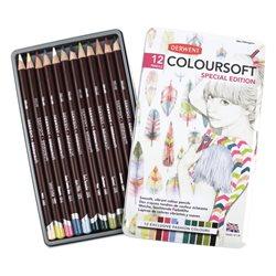 Н-р цветных карандашей Coloursoft SPECIAL EDITION /12цв.в мет.